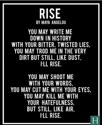 strong black woman poem maya angelou